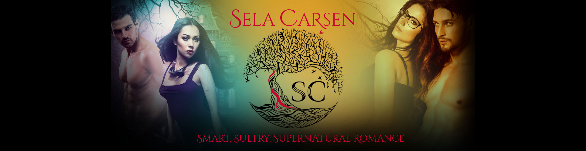 Sela Carsen ~ Author-Banner